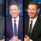 Late Night Hosts Joke About Impeachment Trial