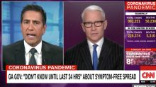 'Inexcusable': Dr. Sanjay Gupta Goes Off on Georgia Governor's 'Stunning' Coronavirus Admission