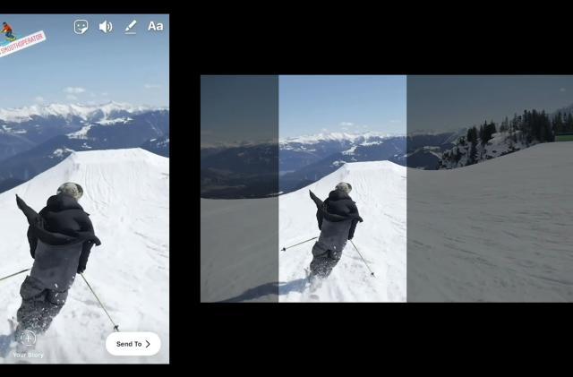 Adobe's AI auto-crops for vertical video