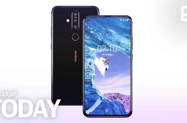 Nokia's X71 phone has a hole-punch display and a 48-megapixel camera