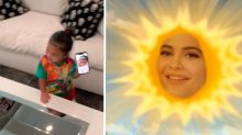 Awkward moment Stormi pans Kylie Jenner's 'rise and shine'