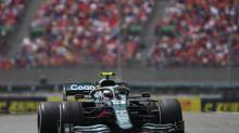F1 - GP de Hongrie - Sebastian Vettel (Aston Martin) disqualifié du Grand Prix de Hongrie, Lewis Hamilton 2e