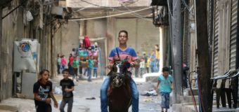 Bunker-busting bombs close Aleppo underground schools: charity