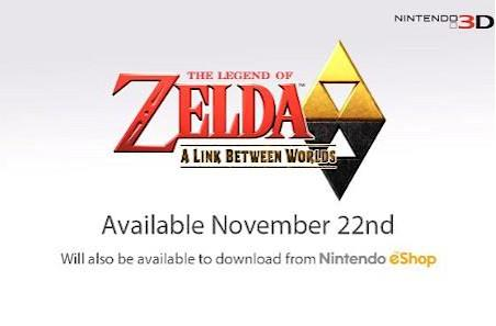 Zelda: A Link Between Worlds dungeons can be played in any order [update]
