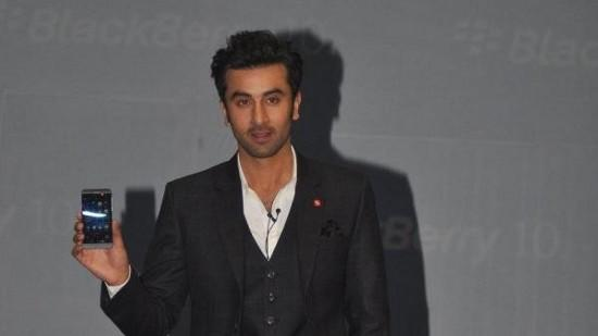 Ranbir Kapoor Launches New Blackberry Z10
