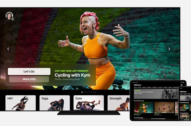 Apple adds Fitness+ workouts to its growing subscription stable