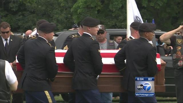 Aaron Toppen, Mokena solider killed in Afghanistan, laid to rest