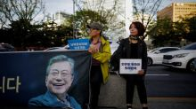 South Korea switches off propaganda broadcasts, Moon upbeat on North Korea nuclear halt