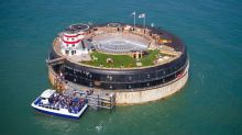 Four iconic sea forts are up for sale, but you'll need a boat or helicopter to reach them