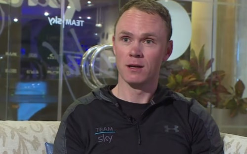 Chris Froome has defended himself and said he will work to clear his name - BBC