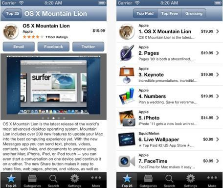 Daily iPhone App: Desktop Apps lets you browse the Mac App Store on your iOS device