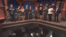 Cast of 'Parks and Rec' Toast Each Other