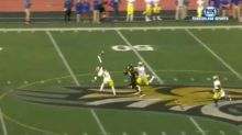 Delaware safety extends for impressive one-handed interception (Video)