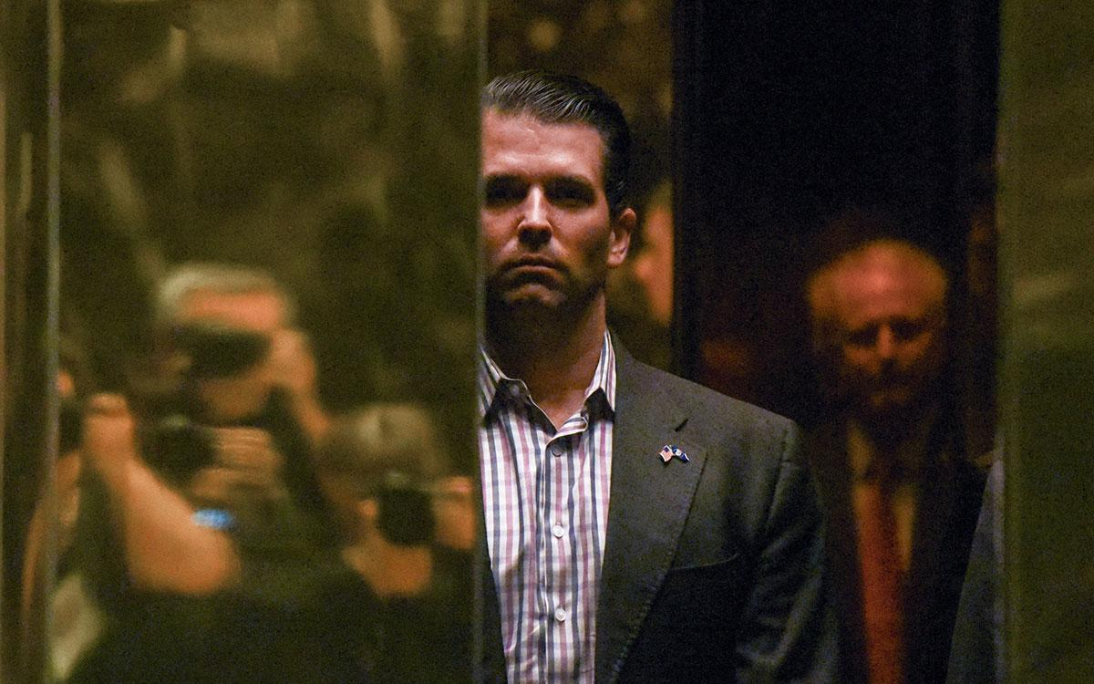 Trump Jr mocked for asking for cash to fight dad's lawsuits