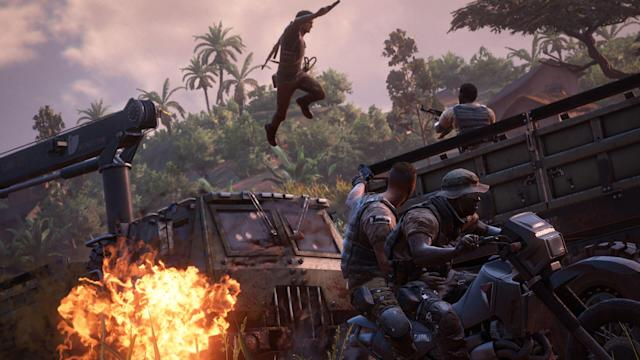 'Uncharted' is a perfect globe-trotting break from quarantine