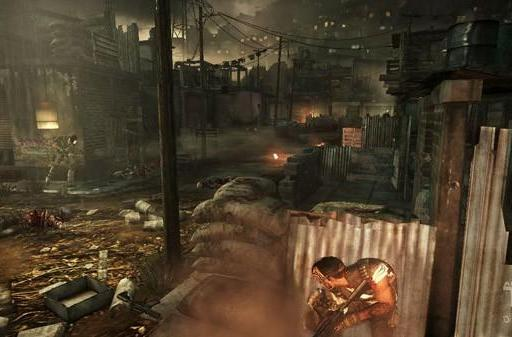 Shoot and hide cooperatively in Army of Two: The Devil's Cartel screens
