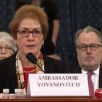 Former US ambassador to Ukraine testifies in public at house impeachment hearing