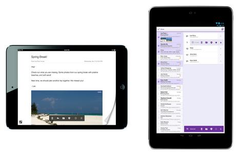 Yahoo Weather arrives on iPhone with Flickr integration, Mail comes to iPad and Android tablets