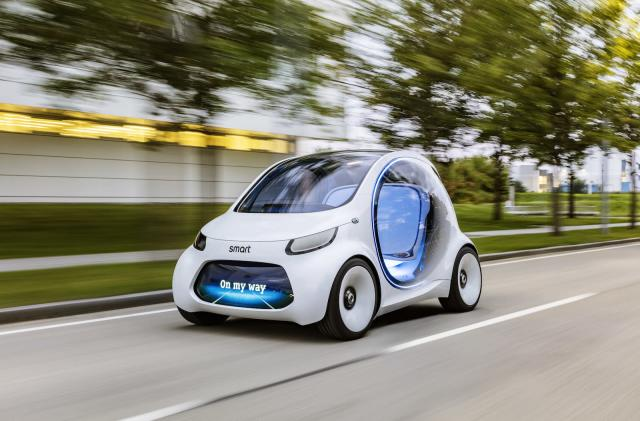 Mercedes-Benz sees self-driving EVs as the future of car sharing