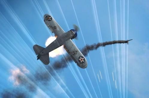 World of Warplanes flight school takes you through plane types