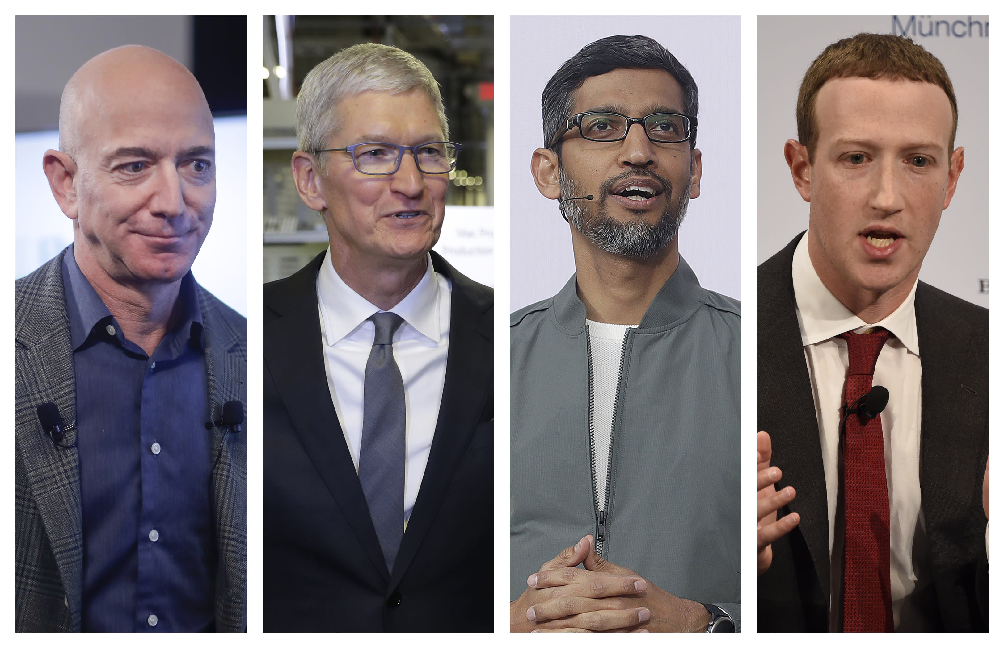 Amazon, Apple, Facebook, and Google CEOs push America-first narrative in effort to avoid antitrust scrutiny