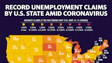 Coronavirus job losses are hitting these states the hardest