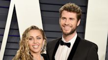 Newlyweds Miley Cyrus and Liam Hemsworth Step Out in All Black for Vanity Fair Oscar Party