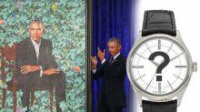 總統畫像登場 奧巴馬戴邊款勞力士?
