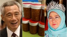 PM Lee Hsien Loong thanks Malaysian queen Tunku Azizah for her gifts of 'special sambal'