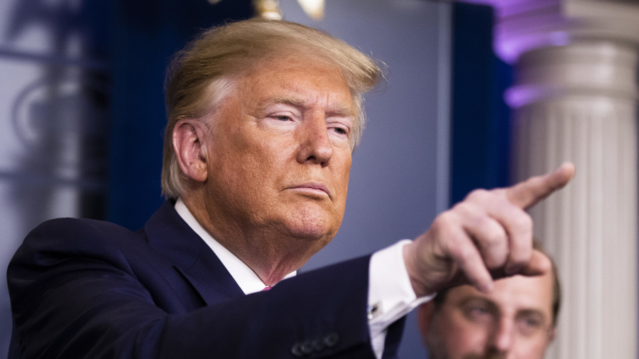 Can Trump be trusted in a time of crisis?