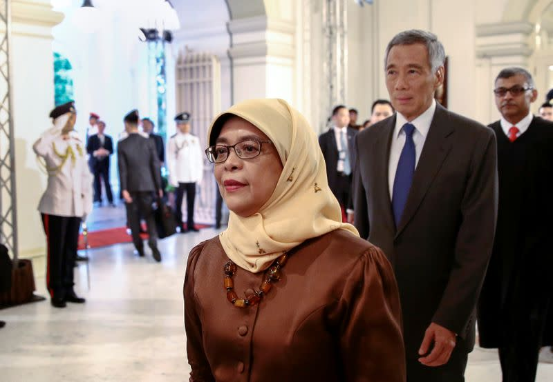 Inauguration of Halimah Yacob as Singapore's first woman President