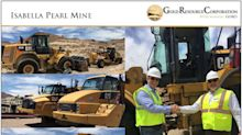 Gold Resource Corporation Commences Isabella Pearl Gold Project Construction, Mineral County, Nevada