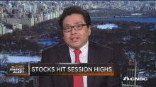 Fundstrat's Tom Lee: I don't think bitcoin, equities are ...