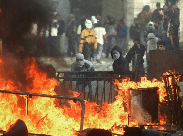 The second intifada erupted in September 2000 and lasted five years during which anti-Israeli attacks were carried out in Israel, the Gaza Strip and the West Bank