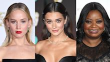 Middle-parted hair is the hottest trend again — and the BAFTAs are proof
