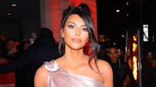 Kim Kardashian Wears Dramatic Greek Goddess-Inspired Gown to the Thierry Mugler Exhibition Opening