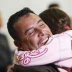 Migrant parents separated from kids make historic return to U.S.