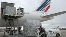 5,5 millions de masques en provenance de Chine sont arrivés à Roissy