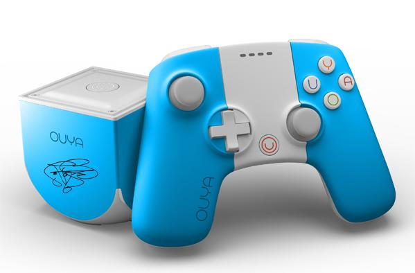 Butterfly-in-the-sky blue Ouya fills out Reading Rainbow Kickstarter's color spectrum