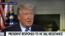 Trump complains about Democrats' rallying cry to 'resist'