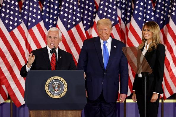 What next for Pence? Vice President 'heading to Florida on personal trip' as Trump refuses to concede