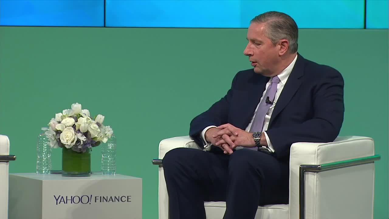 Arconic ceo klaus kleinfeld at yahoo finance all markets summit video