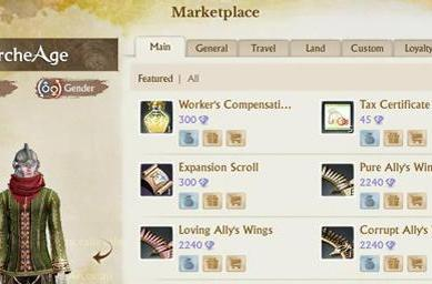 Trion compensates ArcheAge players with cash shop potions, play time