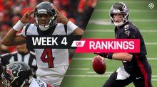 Week 4 Fantasy Football Quarterback Rankings