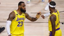 LeBron James, Anthony Davis draw Lakers within one win of NBA championship