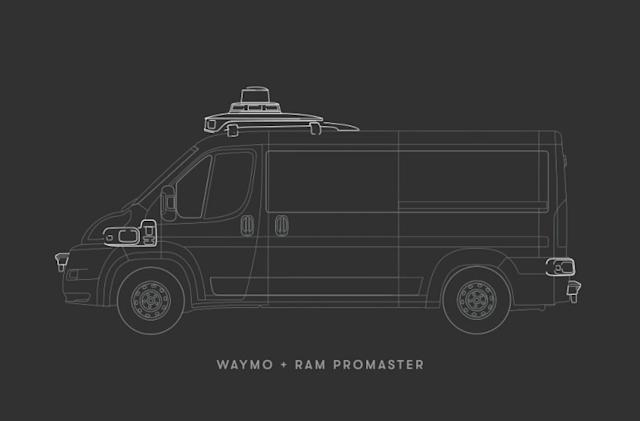 Waymo and FCA's expanded deal includes self-driving Ram vans