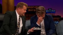 James Corden's Disgusting Revenge on Gordon Ramsay: Eat a Fish Eye