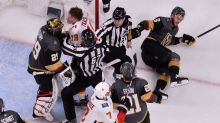 Is Marc-Andre Fleury's shift to 'enforcer' a reason for concern?
