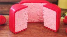 Neue Sorte: Jetzt gibt es Prosecco-Käse – und er ist pink