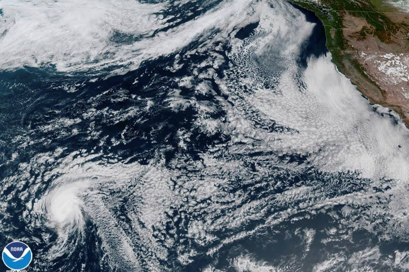 Satellite image of Hurricane Douglas
